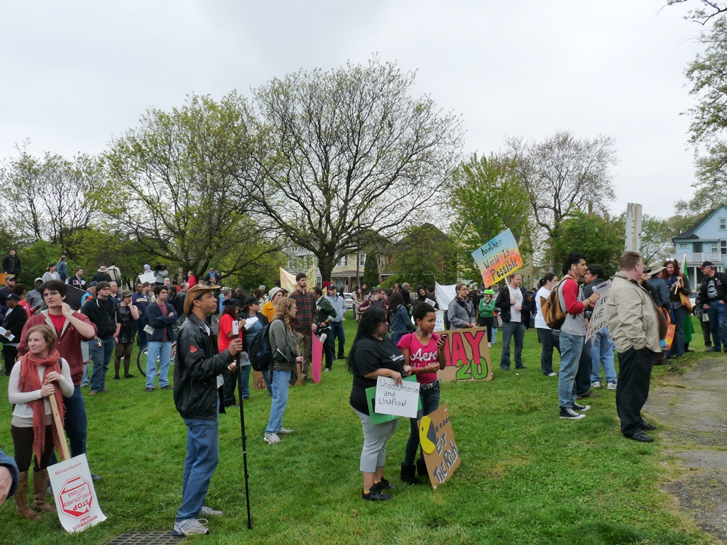 assembly at Clark Park and march to Roosevelt Park 15