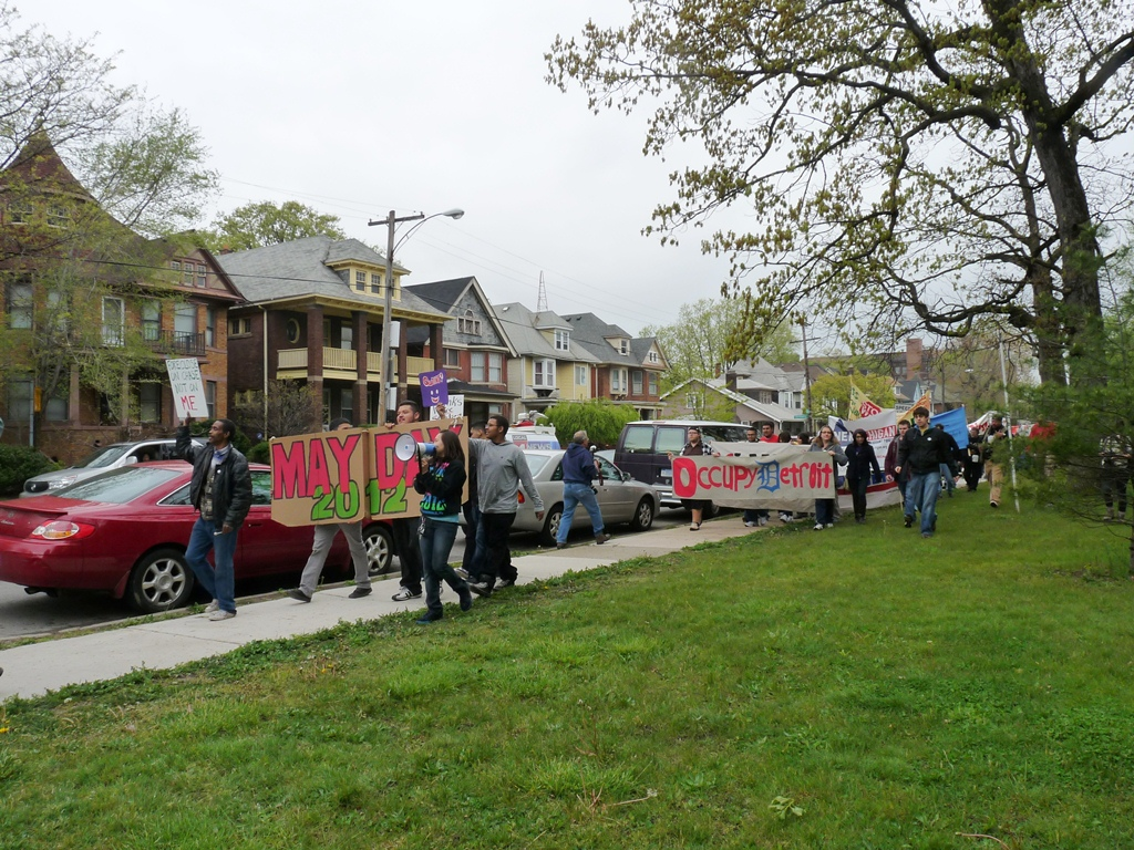 assembly at Clark Park and march to Roosevelt Park 16