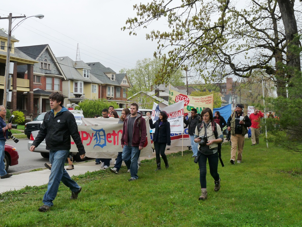 assembly at Clark Park and march to Roosevelt Park 17