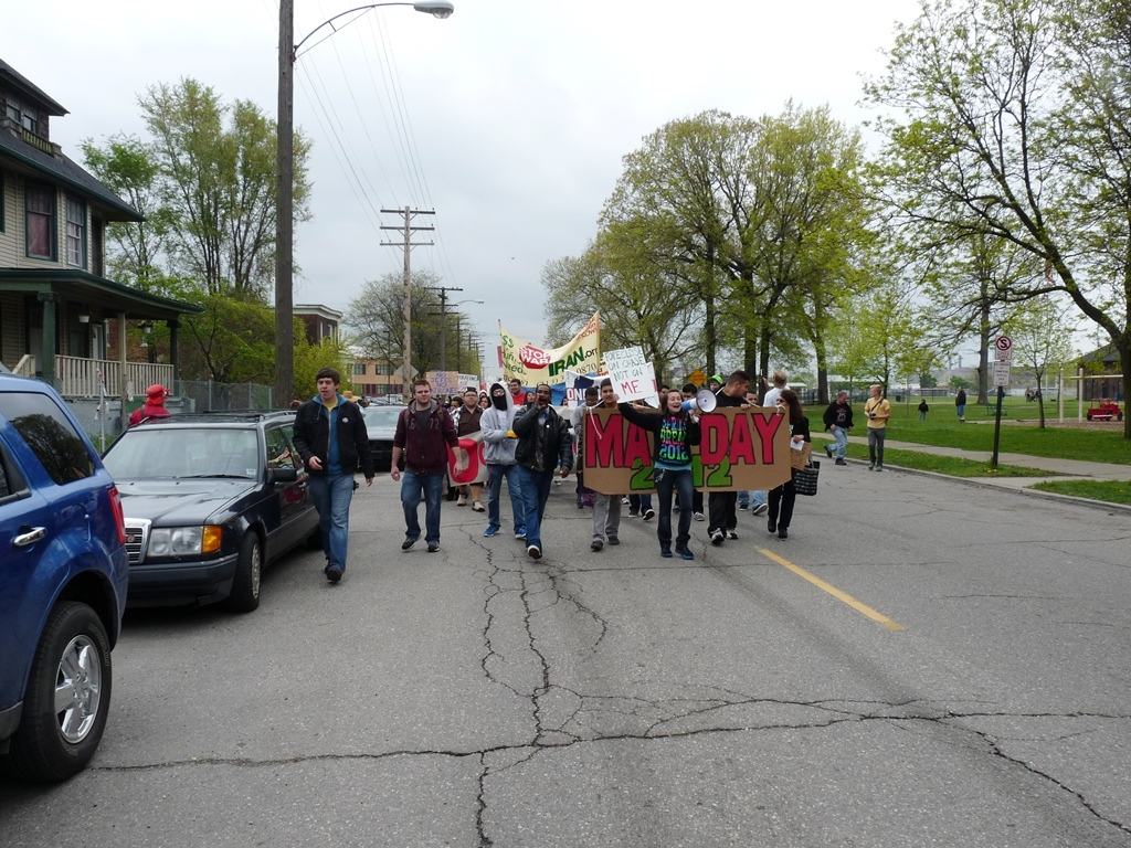 assembly at Clark Park and march to Roosevelt Park 22