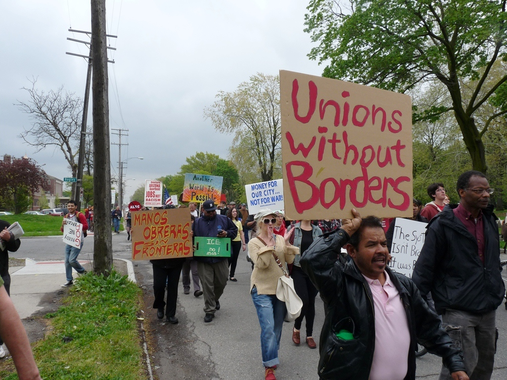 assembly at Clark Park and march to Roosevelt Park 23