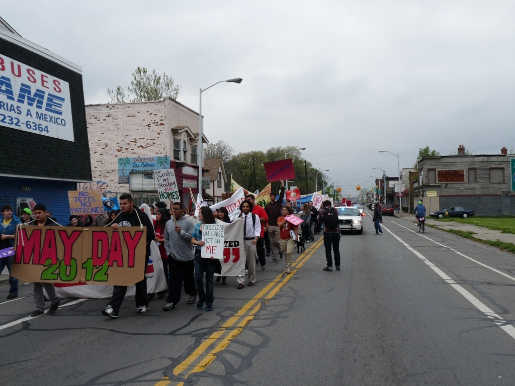 assembly at Clark Park and march to Roosevelt Park 24