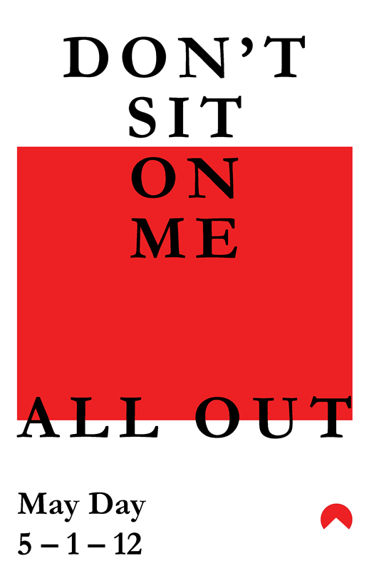 do not sit on me_all out