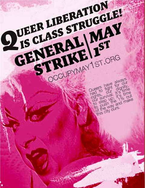 Queer Strike Poster