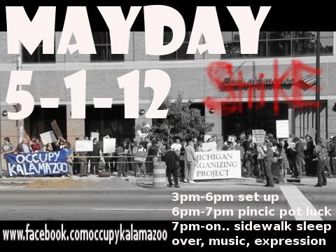 occupy Kalamazoo May day general strike